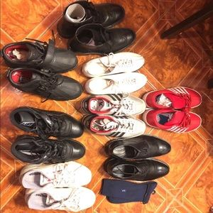 buy online ed438 6847c Lo of 8 Pairs of Mens Shoes (Sizes 9-10)